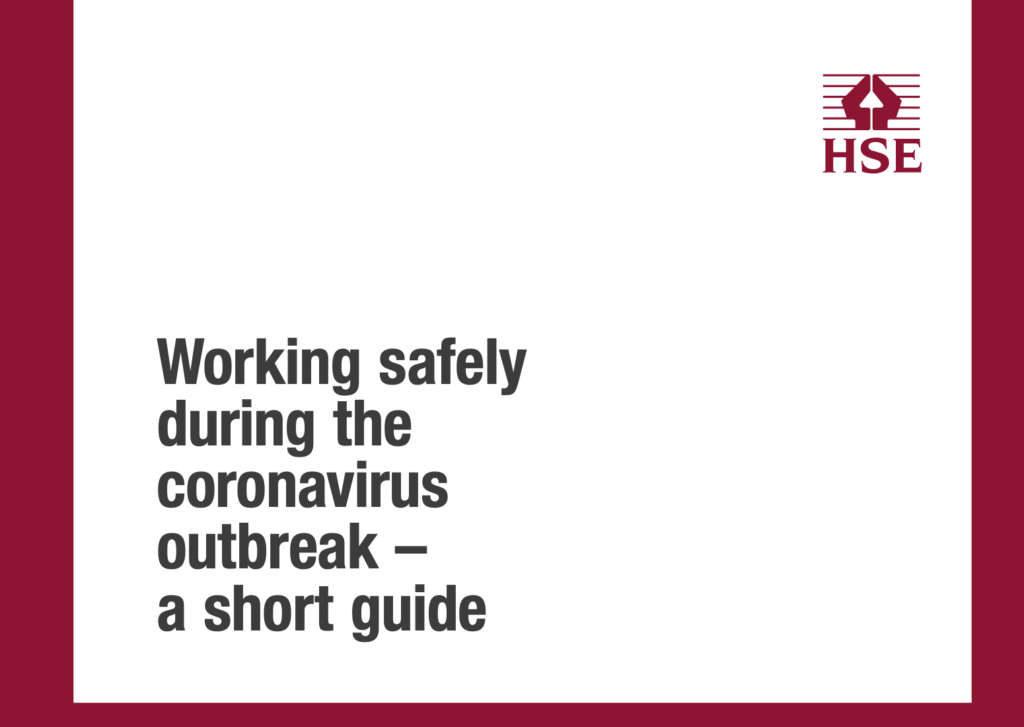 Covid 19 Health and Safety guidance