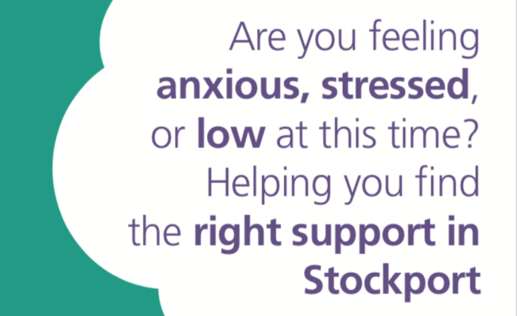 Mental health support in Stockport