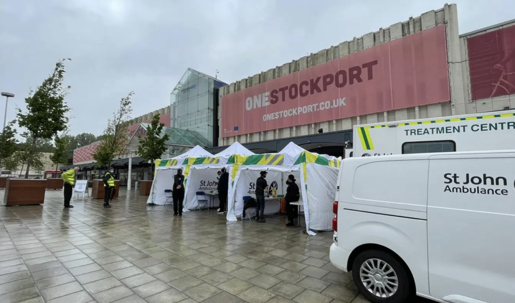Stockport vaccinations